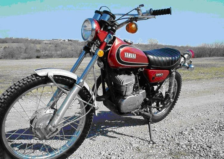 1. Yamaha Dirt Bikes - 1 1973 Yamaha RT3
