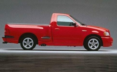 1999 Ford SVT F-150 Lightning side view