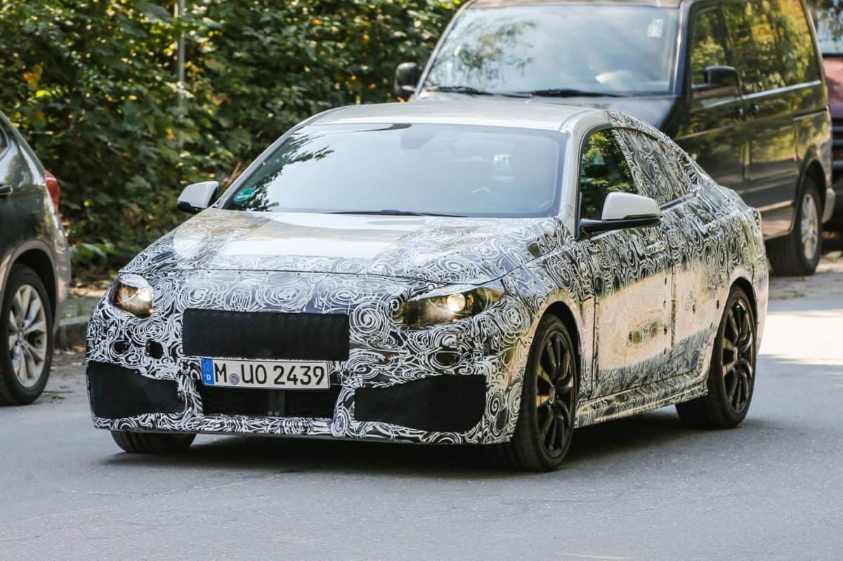 2019 BMW Lineup - BMW 2 Series Gran Coupe test mule
