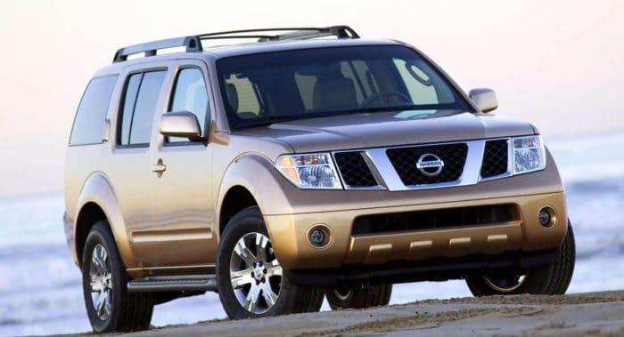 2005 Nissan Pathfinder best used SUV under 10000