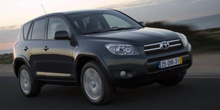 Toyota RAV4 best used SUV under 10000