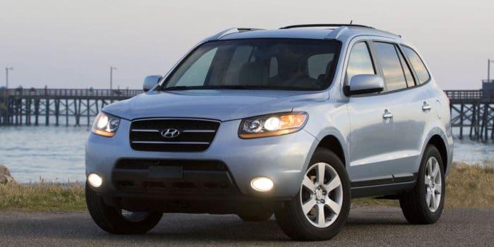 Hyundai Santa Fe best used SUV under 10000