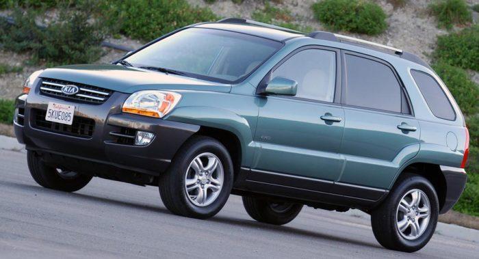 Kia Sportage best used SUV under 10000