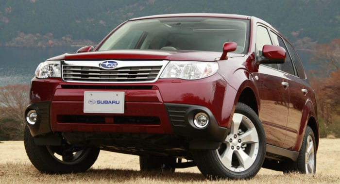 Subaru Forester best used SUV under 10000