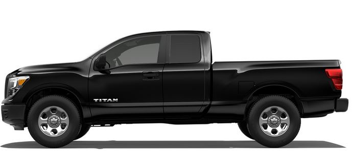 2018 Nissan Titan S side view