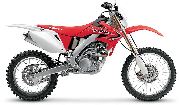 250cc Dirt Bike - Honda CRF250X