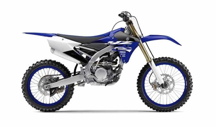 250cc Dirt Bike - Yamaha YZ250F