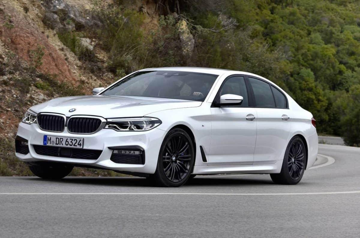 BMW 5 Series 3/4 view
