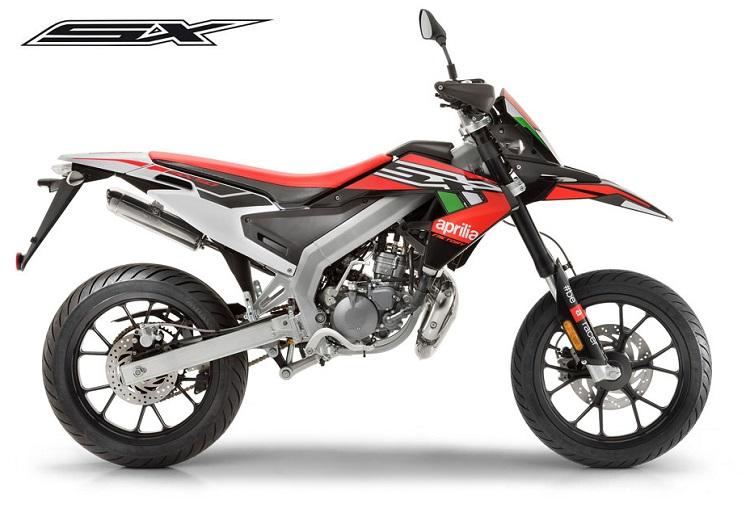 50cc Motorcycle - Aprilia SX 50 Factory