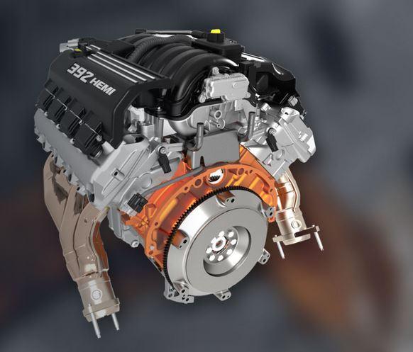 6.4L Apache HEMI Engine - Mopar Performance