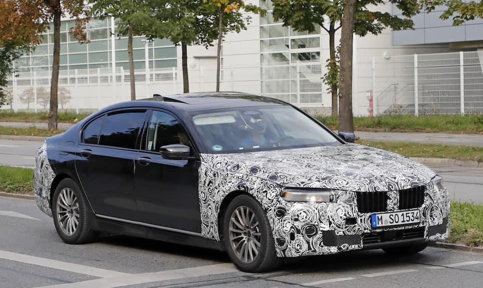 2019 BMW 7 Series test mule