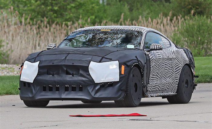 2020 GT500 Spy Shot Front 3/4