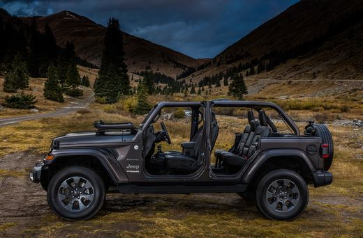 Jeep Wrangler Unlimited - side view