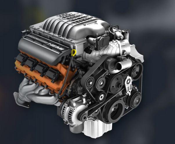 Mopar Perforamance 6.2L Supercharged Dodge Crate Engines