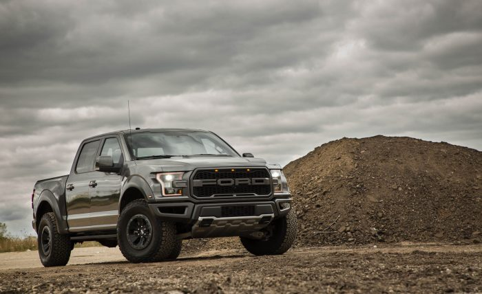 Ford Raptor Front 3/4 Souped Up Cars