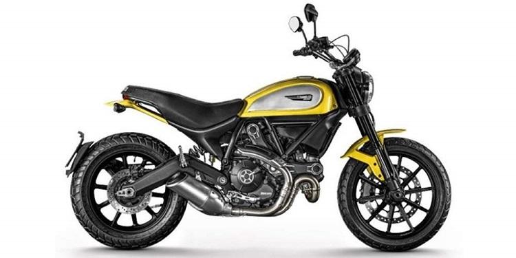 Scrambler Motorcycle - Ducati Scrambler