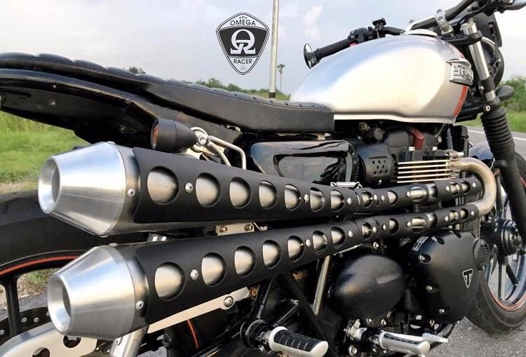 Scrambler Motorcycle - Exhaust