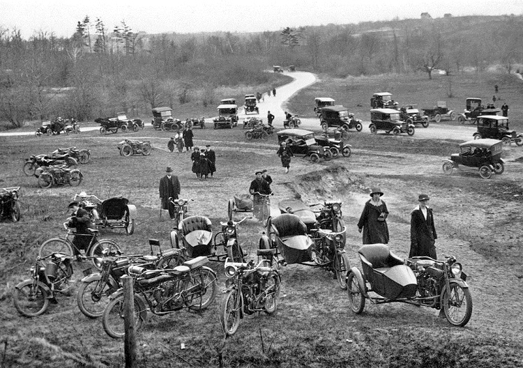 Scrambler Motorcycle - History