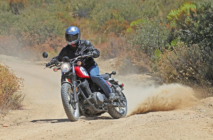 Scrambler Motorcycle - Off-Road
