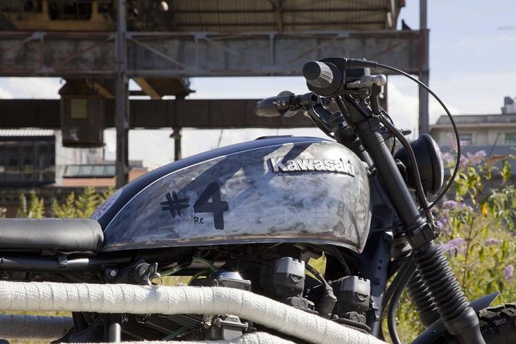 Scrambler Motorcycle - Tank