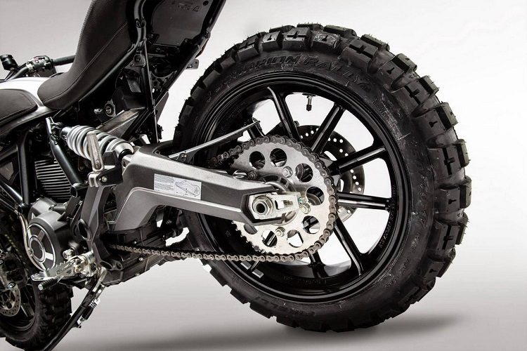 Scrambler Motorcycle 2