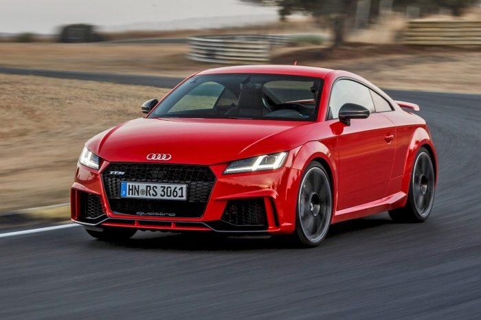 Audi TT RS Front 3/4