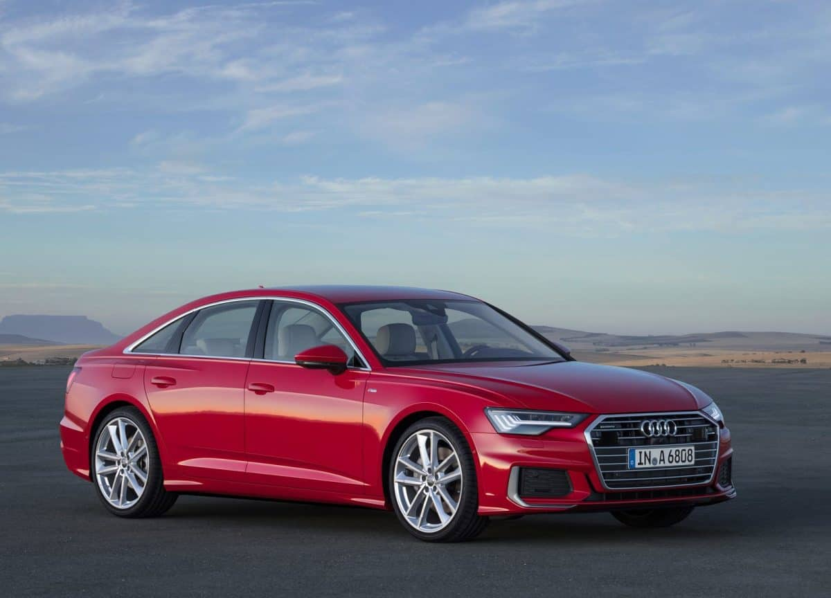 Audi A6 leads the redesigned Audi 2019 lineup