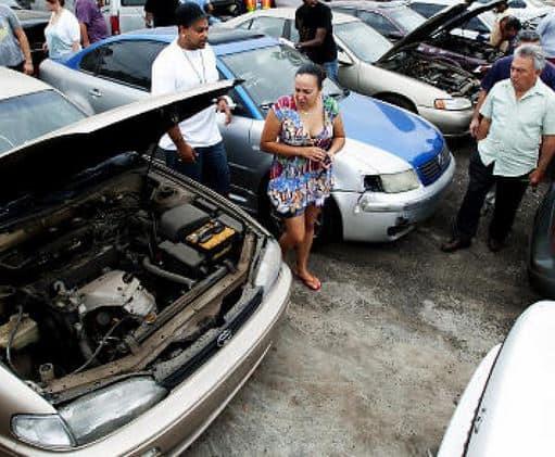 auto auction - repossessed cars