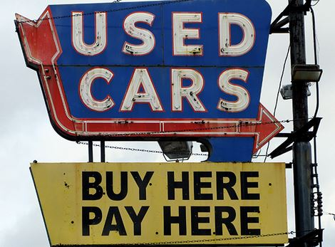 Buy Here Pay Here Cars - Sign