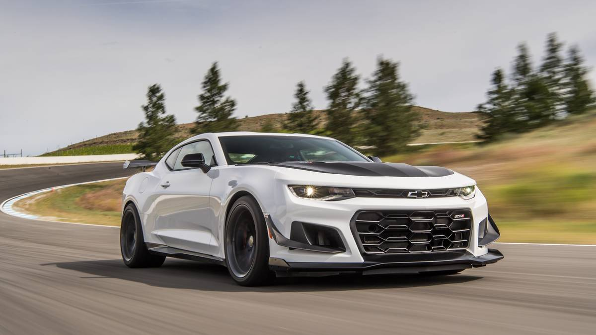 2019 Chevy Lineup - Chevrolet Camaro ZL1 1LE will remain the most powerful Camaro ever made and the second most powerful Chevy car in 2019