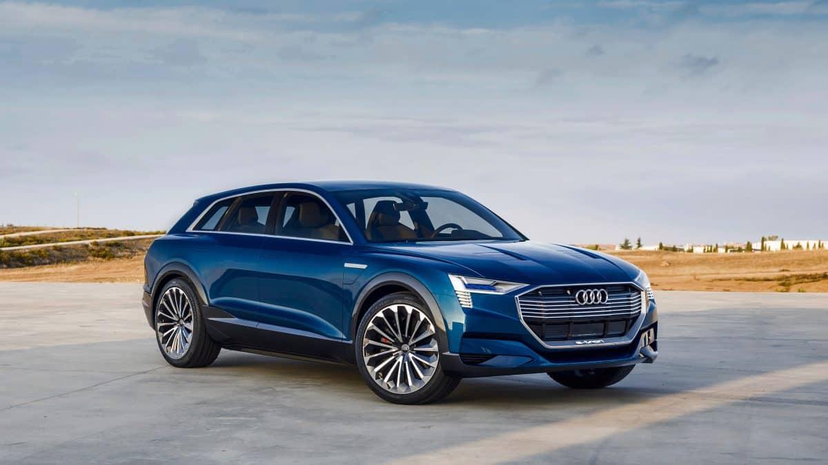 Audi E Tron Quattro 3 4 View