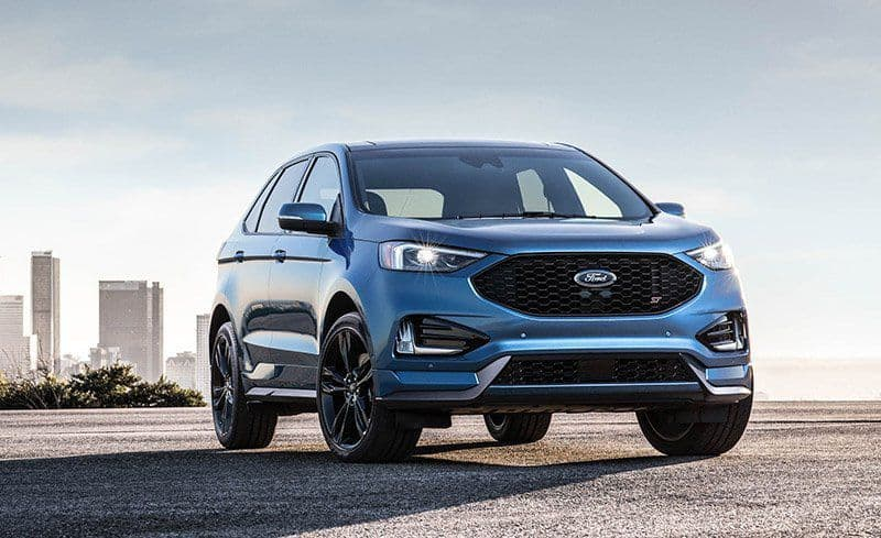 2019 Ford Lineup - Ford Edge ST for 2019 3/4 view