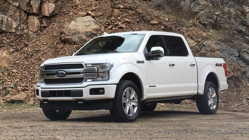 2019 Ford Lineup - Ford F-150 Diesel 3/4 view