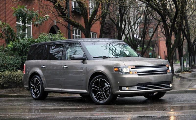 2019 Ford Lineup - Ford Flex front 3/4 view