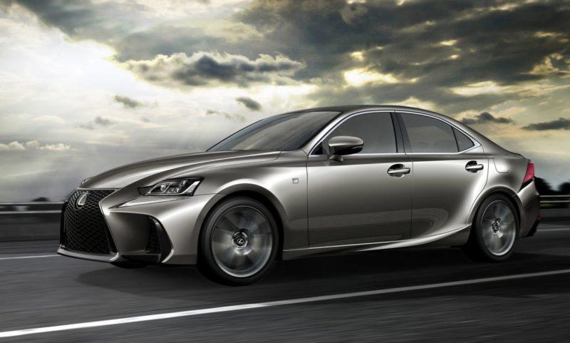 Lexus IS side view