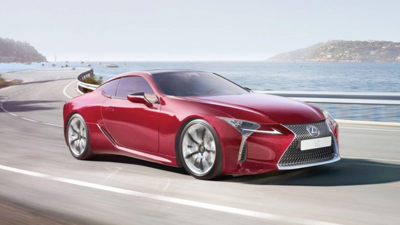 Lexus LC is one of the most exciting Lexus 2019 models