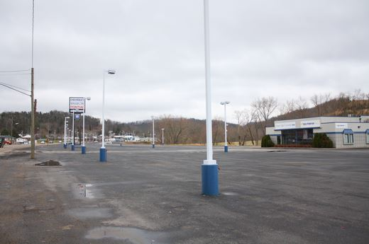 limited inventory - empty car lot