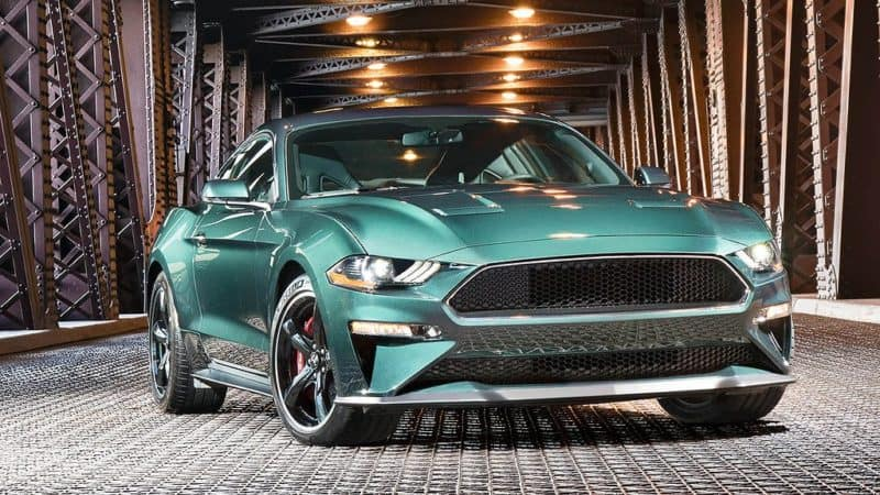 2019 Ford Lineup - 2019 Ford Mustang Bullit front 3/4 view