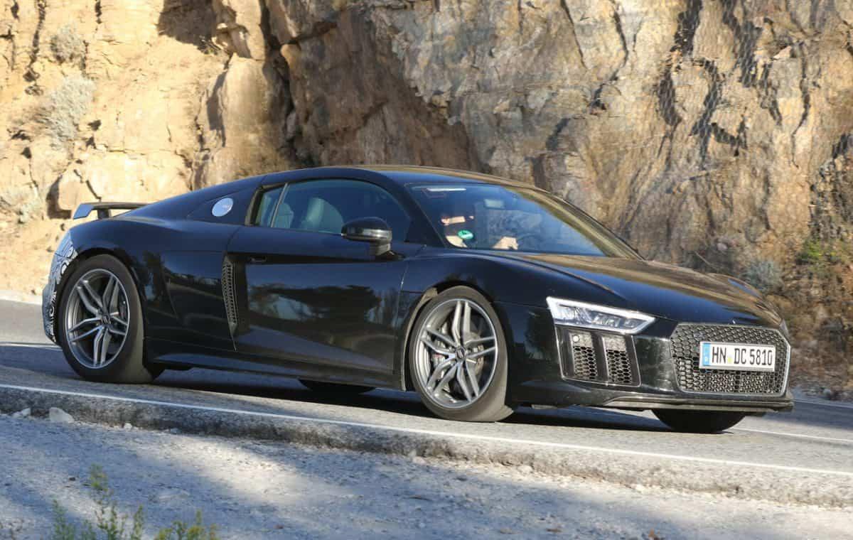 2019 Audi R8 test mule