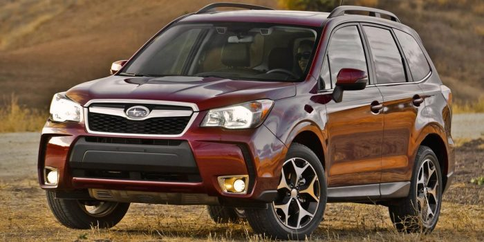 best family SUV subaru forester