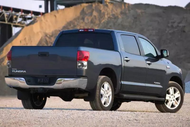 2007 Toyota Tundra - passenger side rear view
