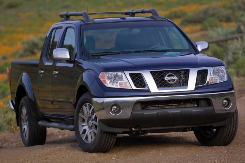 2012 Nissan Frontier - passenger side front view