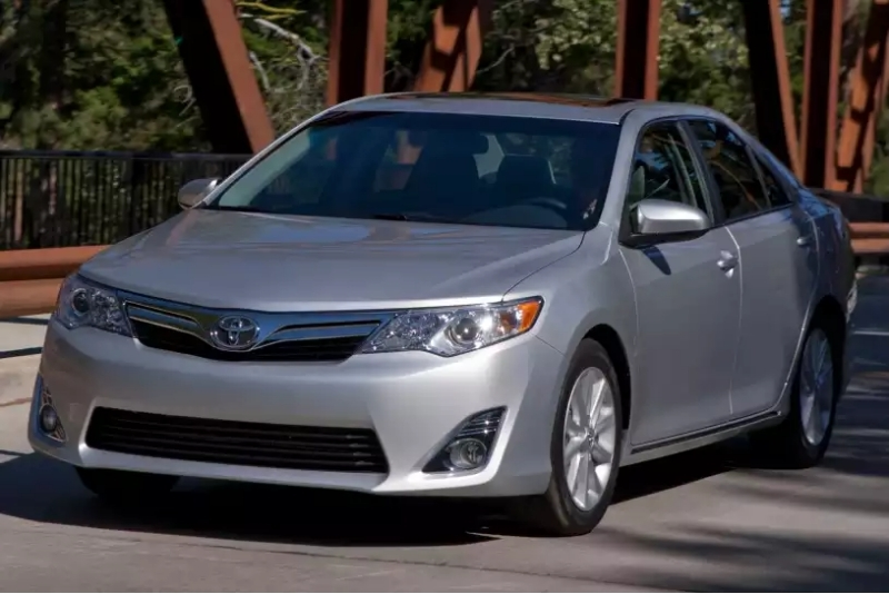 2012 Toyota Camry - drivers side front view
