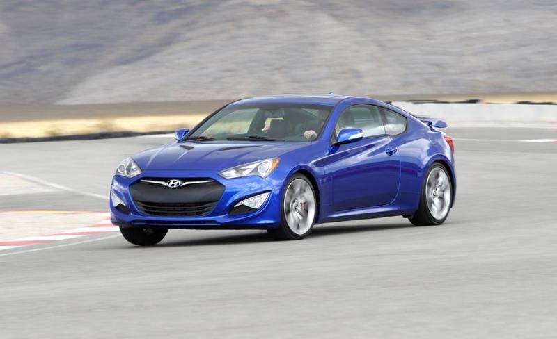 2013 Hyundai Genesis - drivers front view