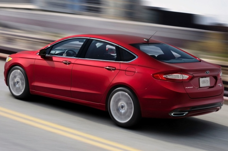 2014 Ford Fusion - driver side rear view