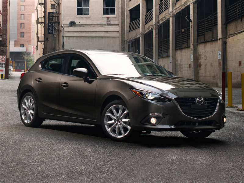 2015 Mazda 3 - passenger side front view