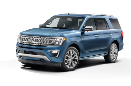 2018 Ford Expedition front view