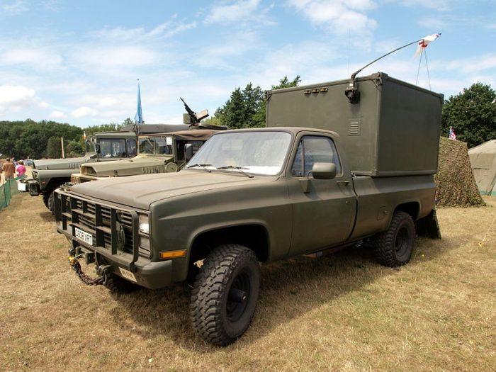 CUCV M1008 Truck