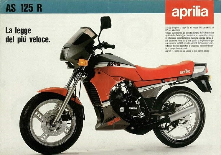 Aprilia AS 125 R