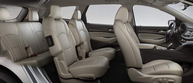 Buick Enclave seat configuration